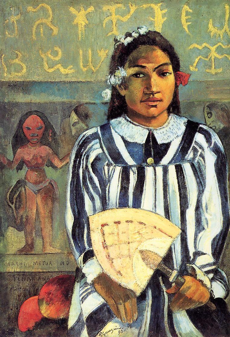 Merahi metua no tehamana ancestors of tehamana 1893 art